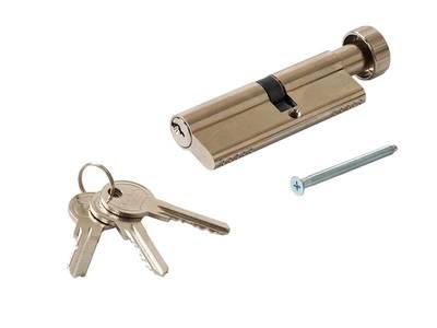 Цилиндр профильный MAXBAR с круглой ручкой 40 (ручка C)/50 (ключ) Изображение