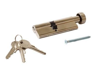 Цилиндр профильный MAXBAR с круглой ручкой 50 (ручка C)/40 (ключ) Изображение