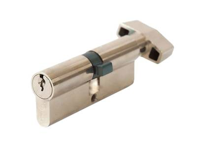 Цилиндр профильный MAXBAR с плоской ручкой CVG/K 40 (ручка)/40 (ключ) Изображение