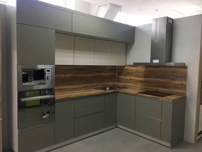 Кухонная столешница ALPHALUX, дуб светлый, R6, влагостойкая, 4200*600*39 мм Изображение 4