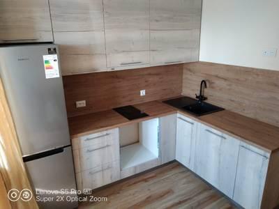 Кухонная столешница ALPHALUX, дуб светлый, R6, влагостойкая, 4200*600*39 мм Изображение 6