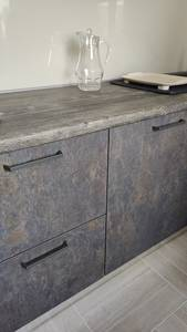 Кухонная столешница ALPHALUX, дуб темный, R6, влагостойкая, 4200*600*39 мм Изображение 4