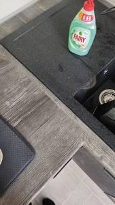 Кухонная столешница ALPHALUX, дуб темный, R6, влагостойкая, 4200*600*39 мм Изображение 5