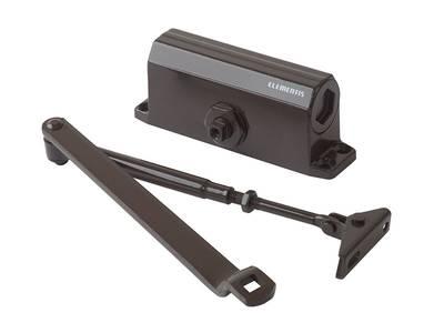 Доводчик дверной Elementis/Lianan 602 EN2 (EN-Size 2, с тягой, коричневый) Изображение 2