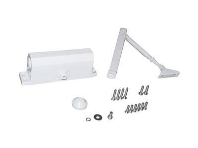 Доводчик дверной Elementis 603 / Lianan 603 (EN-Size 3, с тягой, белый) Изображение