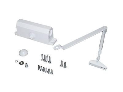 Доводчик дверной Elementis 603 / Lianan 603 (EN-Size 3, с тягой, белый) Изображение 2