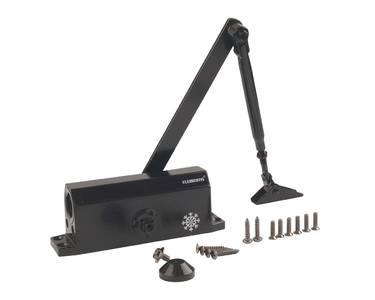 Доводчик дверной Elementis/Lianan 603 EN3 (EN-Size 3, с тягой, черный) Изображение