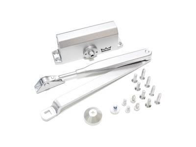 Доводчик дверной Dorma TS-Nano (EN-Size 2, с тягой, серебристый) Изображение