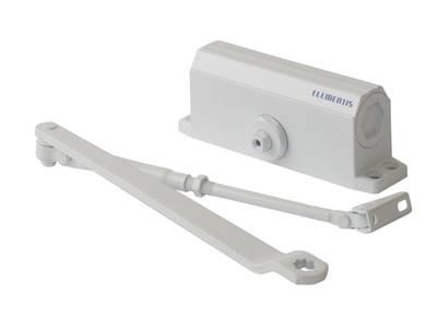 Доводчик Elementis 603 EN3, белый, с низкотемпературным маслом Изображение