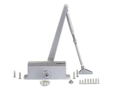 Доводчик Elementis 603 EN3, серебристый, с низкотемпературным маслом Изображение