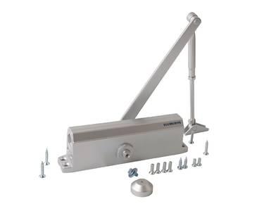 Доводчик дверной Elementis/Oubao 605 EN5 (EN-Size 5, с тягой, серебристый) Изображение
