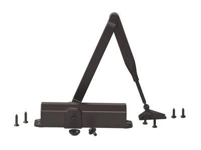 Доводчик MAXBAR 100 Size2/3/4 с тягой, темно-коричневый Изображение