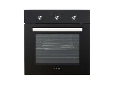 Духовой шкаф EDM 041 BL, ширина 600 мм, черный Изображение