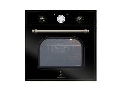 Духовой шкаф EDM 070С BL, ширина 600 мм, черный Изображение