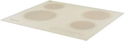 ECS 603 C Электрическая независимая варочная поверхность стеклокерамическая, ширина 60 см, цвет бежевый/прямой край Изображение 2