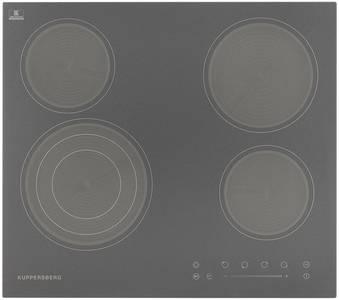 Электрическая варочная поверхность Kuppersberg ECS 603 GR, графит Изображение