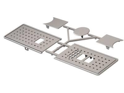 Крышка BASIC для распашных приводов ED100/250, серебро, 29241001 Изображение 3