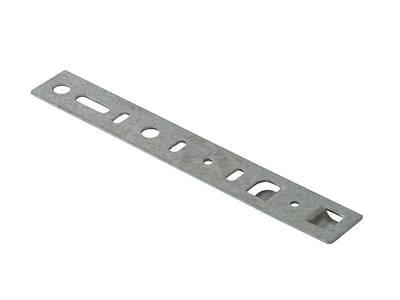 Пластина анкерная для профиля Rehau, MontBlant, PLASTMO, Veka TOPLine, не поворотная, 180 мм, ширина захвата 42 мм, ширина профиля 70, 82 мм Изображение 3
