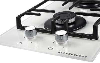 Газовая варочная поверхность Kuppersberg FBG 36 WG, белый Изображение 3