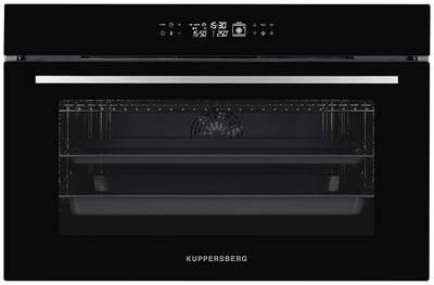 FH 911 B Электрический независимый духовой шкаф, ширина 90 см, цвет черный/стекло Изображение
