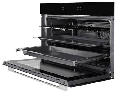 FH 911 B Электрический независимый духовой шкаф, ширина 90 см, цвет черный/стекло Изображение 2
