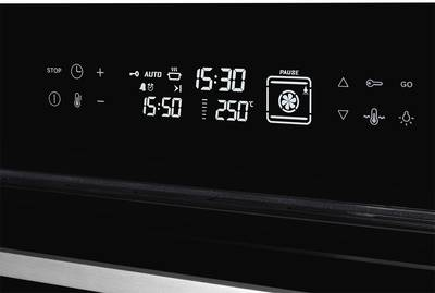 FH 911 B Электрический независимый духовой шкаф, ширина 90 см, цвет черный/стекло Изображение 3
