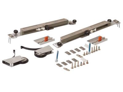 Комлект роликов с доводчиком (на одну дверь,  L+R части) FIRMAX Изображение