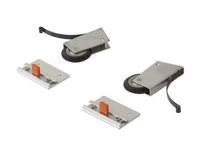 Комлект роликов с доводчиком (на одну дверь,  L+R части) FIRMAX Изображение 3