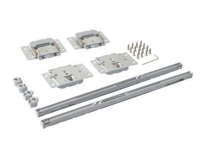 FM309 Комплект врезных роликов и доводчиков на 1 дверь, FIRMAX. Изображение 2