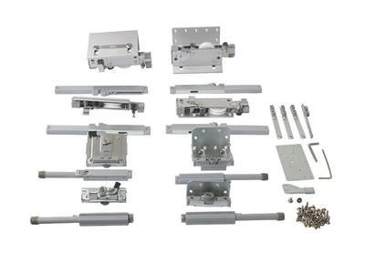 FM602 Комплект накладных роликов и доводчиков на 2 двери., FIRMAX. Изображение 3