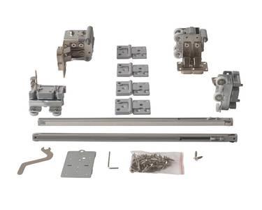 FM902 Комплект накладных роликов и доводчиков на 1 складную дверь, FIRMAX. Изображение 5