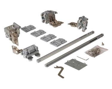 FM902 Комплект накладных роликов и доводчиков на 1 складную дверь, FIRMAX. Изображение 6