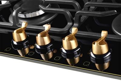 Газовая варочная поверхность Kuppersberg FQ 601 B, чёрный Изображение 2