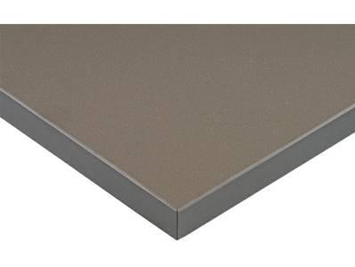 Фасад МДФ глянцевый базальт металлик ZENIT (Basalto Pearl Effect ZENIT) ALVIC Изображение
