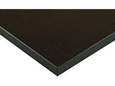 Фасад МДФ глянцевый черный металлик ZENIT (Negro Pearl Effect ZENIT) ALVIC Изображение