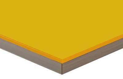 Фасад мебельный МДФ ALVIC глянцевый карри Изображение