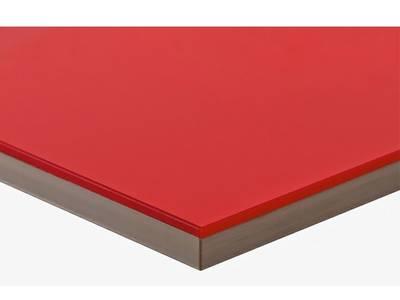 Фасад мебельный МДФ ALVIC глянцевый красный (Rojo) Изображение
