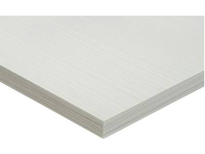 Фасад МДФ глянцевый луч белый (Laser Blanco) ALVIC Изображение