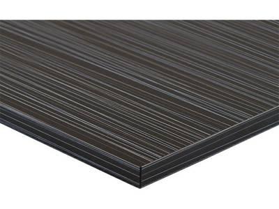 Фасад МДФ глянцевый луч черный (Laser Negro) ALVIC Изображение