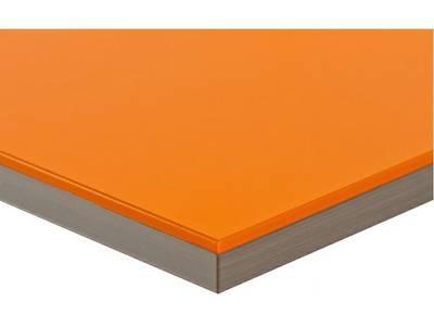 Фасад МДФ глянцевый оранжевый (Naranja) ALVIC Изображение