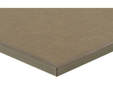 Фасад мебельный МДФ ALVIC глянцевый текстиль серебро (Textil Plata) Изображение