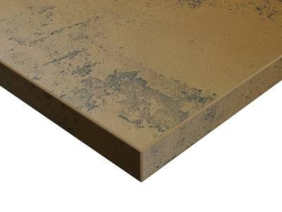 Фасад мебельный МДФ ALVIC глянцевый Осирис 03 Медь (Osiris Cobre OSR-03-LX) Изображение