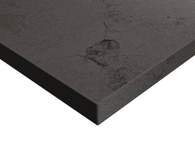 Фасад мебельный МДФ ALVIC глянцевый Осирис 04 Графит (Osiris Grafito OSR-04-LX) Изображение