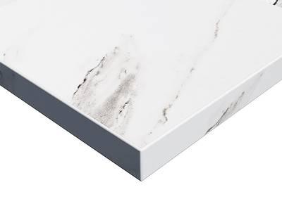 Фасад мебельный МДФ ALVIC суперматовый Мрамор Версилла (Marmol Versilla Supermat ZENIT) Изображение