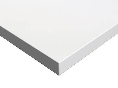 Фасад мебельный МДФ глянцевый белый полар (Blanco Polar) ALVIC Изображение
