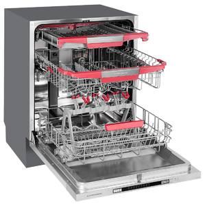 GLM 6075 Посудомоечная машина полностью встраиваемая, ширина 60 см Изображение 2