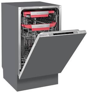 GSM 4573 Посудомоечная машина полностью встраиваемая, ширина 45 см Изображение