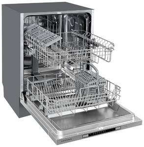 GSM 6072 Посудомоечная машина полностью встраиваемая, ширина 60 см Изображение 2