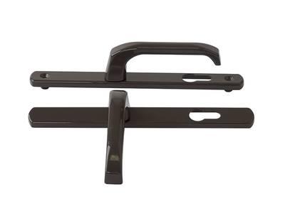 Гарнитур нажимной Elementis сплошной PZ/25/85/8 (длина штифта 120мм), коричневый Изображение 3
