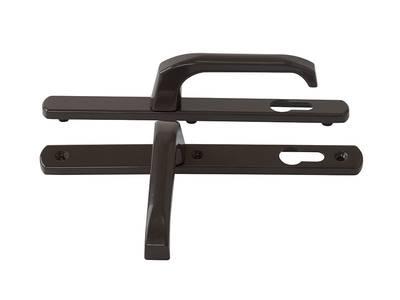Гарнитур нажимной Elementis сплошной PZ/25/92/8 (длина штифта 120мм), коричневый Изображение 2